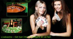 Spela Live-Casino och vinn extra bonuspengar